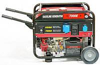 Бензиновый генератор Weima WM7000E 7,0Квт, 3 фазы, WM190FE -16л.с.