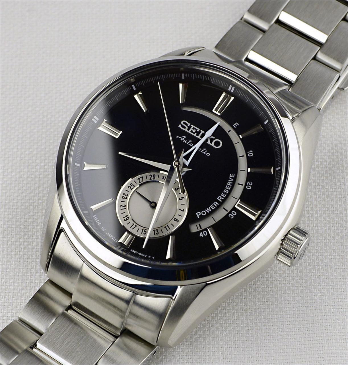 Часы Seiko Presage SSA305J1 Automatic 4R57 Power Reserve