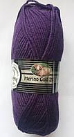 Madame Tricote Merino Gold 200 № 060 фиолетовый
