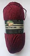 "Madame Tricote Merino Gold 200 m Полушерстяная Пряжа Для Ручного Вязания ""035"""