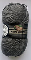 Madame Tricote Merino Gold 200 № 008 сірий