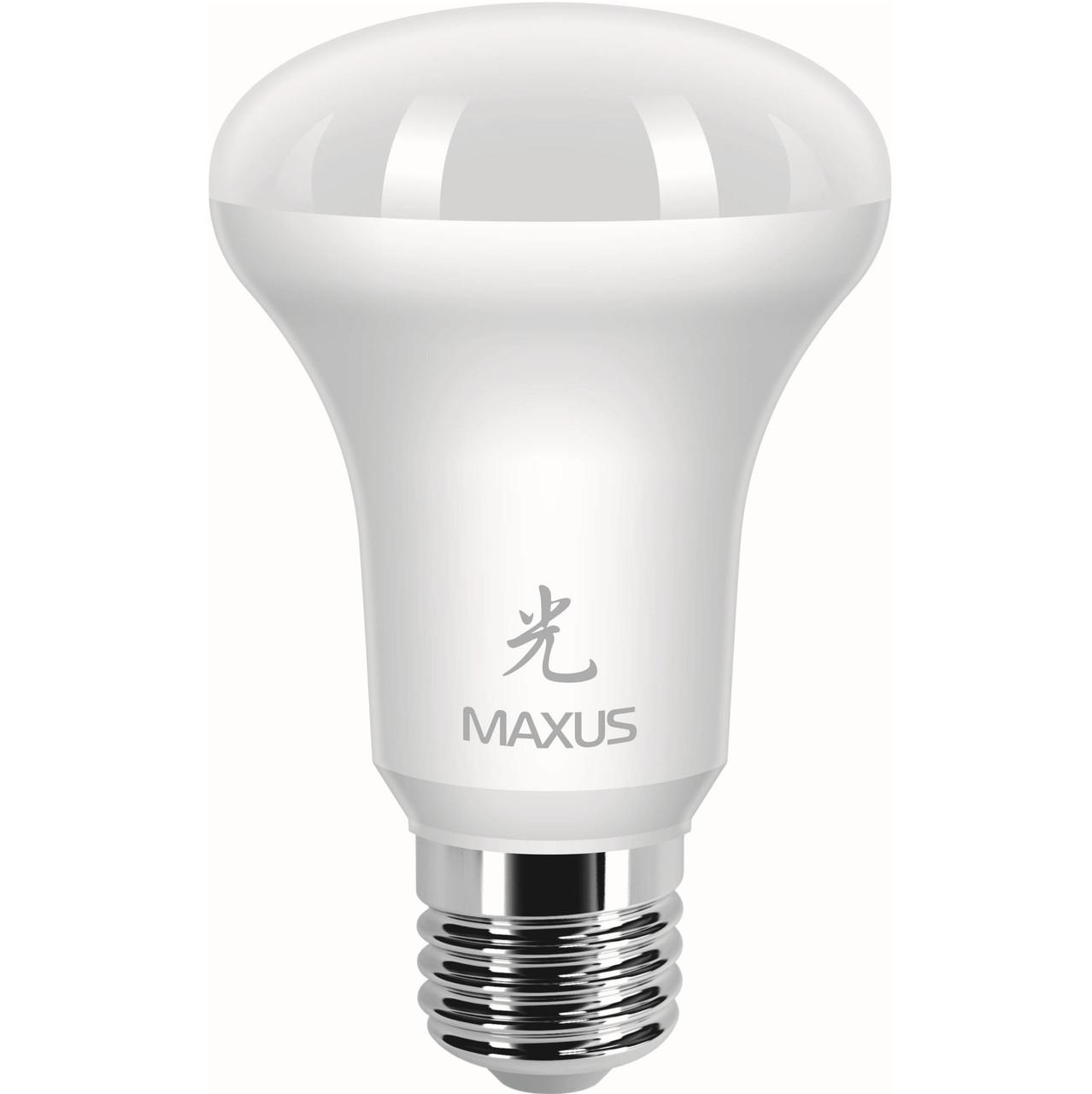 Лампа MAXUS R63 7W 4100K 220V E27 AP