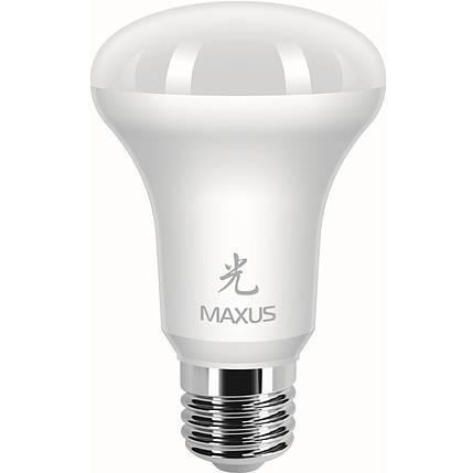Лампа MAXUS R63 7W 4100K 220V E27 AP, фото 2