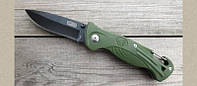 Складной нож Viking Nordway 2051, с фиксатором, сталь 420, чёрное покрытие клинка, фото 1