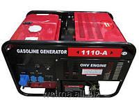 Бензиновый генератор Weima WM1110-A, 9,5Квт, 1фаза ,двиг.WM2V78F-20л.с.