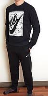 Мужской спортивный костюм черный 3083