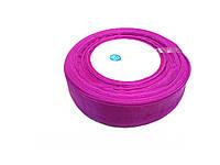 Органза фиолетовая 2,5см 45м в рул