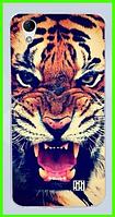 Чехол, бампер с принтом тигра для HOMTOM HT16