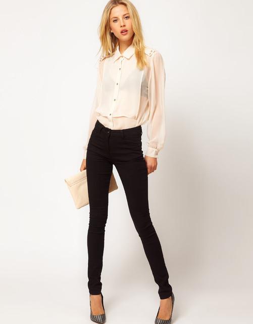 99b0c6019f6 Шифоновые блузки  с чем носить. 5 стильных образов