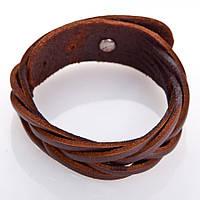 """Шкіряний браслет """"Bunch"""" кожаный браслет на застежке, браслет из кожи, напульсник різних кольорів"""