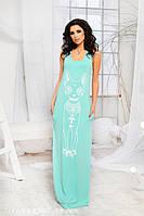 Женское длинное платье Сфинкс