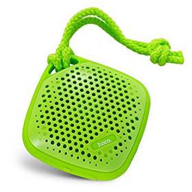 Портативная акустика HOCO. BS1 Outdoor sports bluetooth speaker Green (зеленая)
