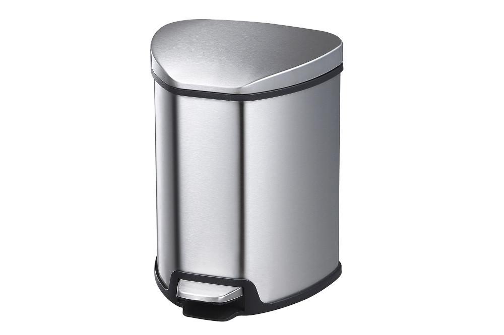 Відро для сміття з якісної нержавіючої сталі 5 л