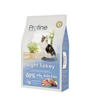 Profine Cat Light Turkey - корм для оптимизации веса кошек, 10 кг, Харьков, Киев, Херсон, Николаев