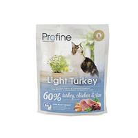 Profine Cat Light Turkey - корм для оптимизации веса кошек, 300 г, Харьков, Киев, Херсон, Николаев