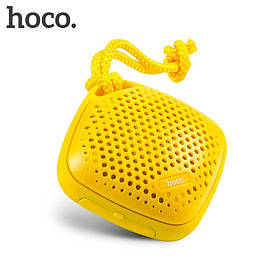 Портативная акустика HOCO. BS1 Outdoor sports bluetooth speaker Yellow (желтая)