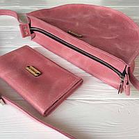 Кожаная сумка ручной работы Ракун