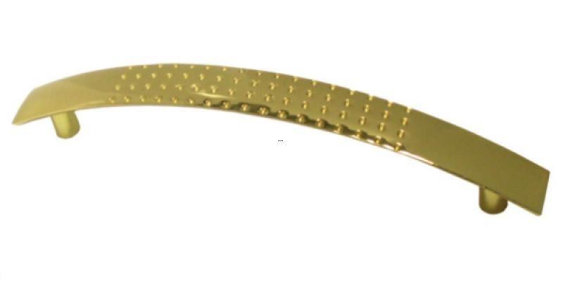 Ручка мебельная Ozkardesler 5065-05 GENIS NOKTALI 128мм Желтая