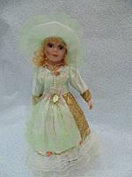 Кукла колекционная фарфоровая  Эльза высота 42 см