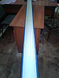 Желоб Водосточный диаметр 130. Толщина 0,4. Оцинкованый. Длина 1,25 метра., фото 4