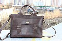 Кожаная сумка ручной работы Гранд