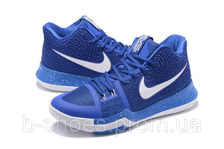 Мужские баскетбольные кроссовки Nike Kyrie 3 (Blue/White)