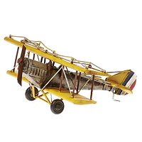 Самолет, металл., 18*21*8 см
