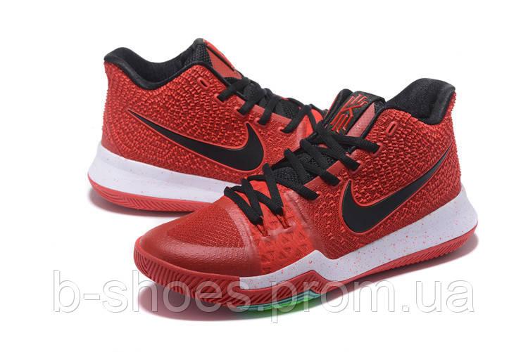 Мужские баскетбольные кроссовки Nike Kyrie 3 (Red/Black/White)