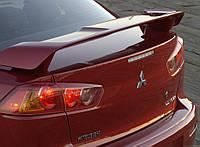 Спойлер крышки багажника Mitsubishi Lancer X 2007+, (OEM type MZ574561EX)