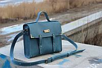 Кожаная сумка ручной работы Винтаж