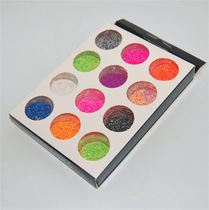 Набор для дизайна ногтей, меланж YRE.(12 шт)