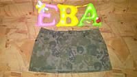Джинсовая женская мини юбка б-у