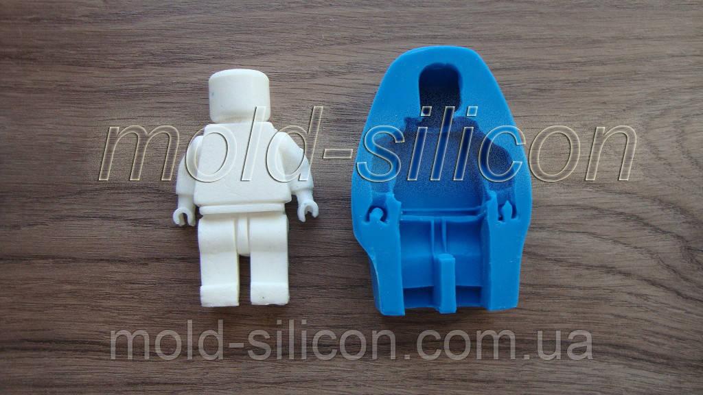 """Силиконовый молд """"Лего человечек 2"""""""