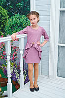 """Подростковое платье """"Алиса"""" фиалка р. 128-152"""