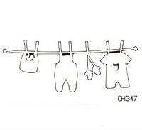 Чипборд Одежда для мальчика
