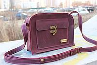 Кожаная сумка ручной работы Почта+
