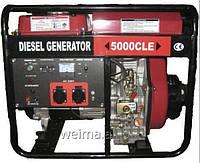 Дизельный генератор Weima WM5000CLE  5,0Квт 1фаза, двиг. WM186FBE