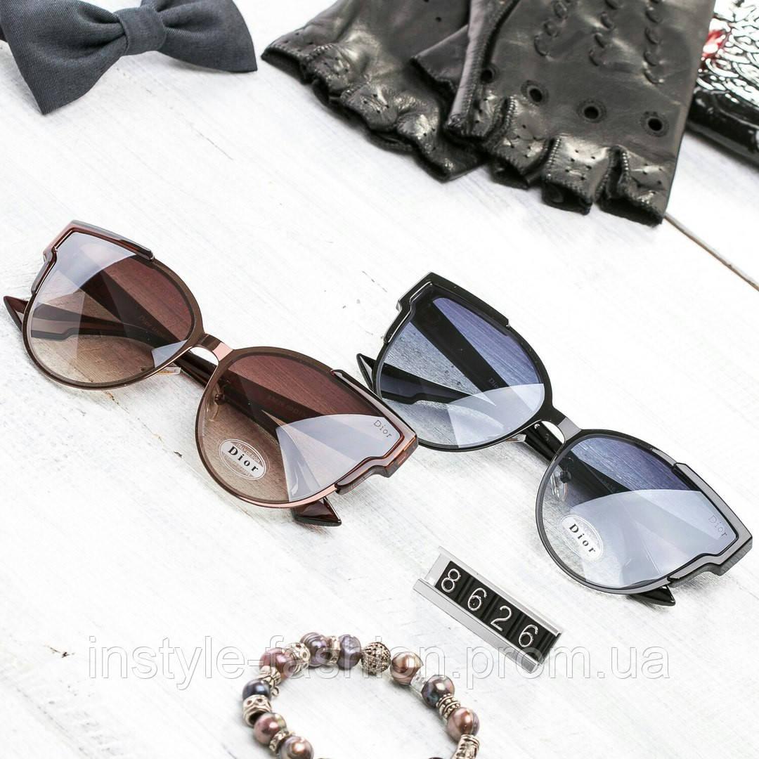 Женские брендовые очки копия Диор реплика стильные и модные