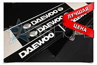 Защитные наклейки на пороги Daewoo