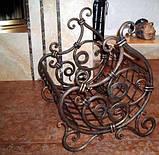 Ковані дровниця «Казка», фото 2
