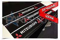 Защитные наклейки на пороги Mitsubishi