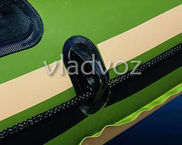 Лодка надувная с веслами двухместная Voyager 500 65001, фото 2