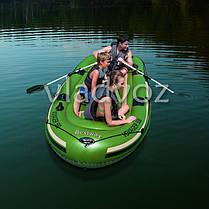 Лодка надувная с веслами двухместная Voyager 500 65001, фото 3