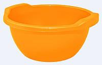Таз круглый 8л Оранжевый