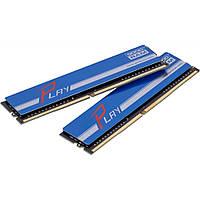 Модуль памяти для компьютера DDR4 16GB (2x8GB) 2400 MHz PLAY Blue GOODRAM (GYB2400D464L15S/16GDC)