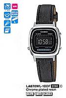 Женские Часы Casio LA670WL-1BDF оригинал