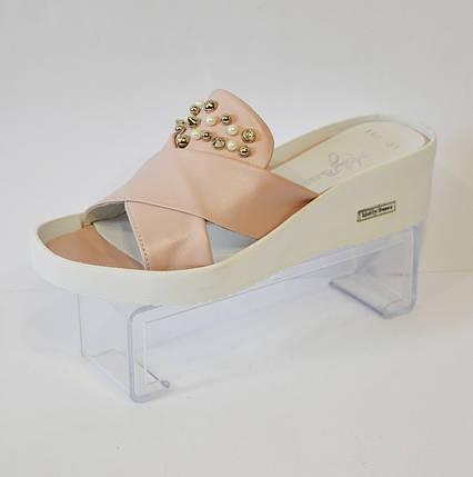 Розовые женские шлепанцы Molly Bessa 355, фото 2