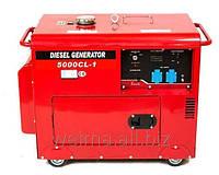 Дизельный генератор Weima WM5000CLE-3 5,0Квт 1 и 3 ФАЗЫ шумозащ. SILENT