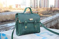 Кожаная сумка ручной работы Сова