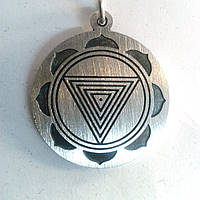 Серебряный кулон Янтра Кали